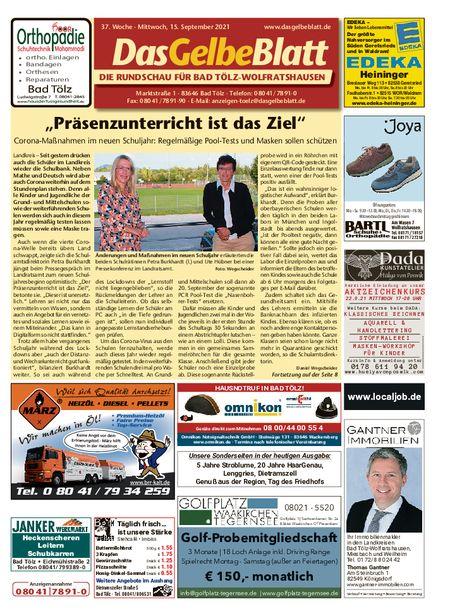 Rundschau Bad Tölz/Wolfratshausen vom 15.09.2021