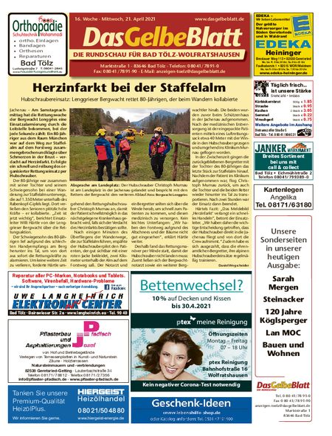 Rundschau Bad Tölz/Wolfratshausen vom 21.04.2021