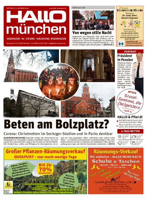 Hallo München Südost vom 21.10.2020