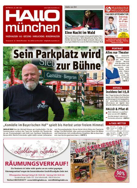 Hallo München Südost vom 16.06.2021