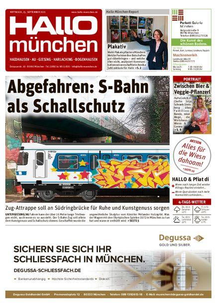 Hallo München Südost vom 15.09.2021