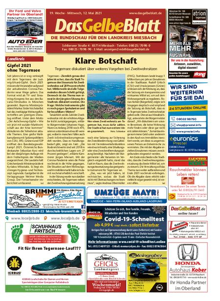 Rundschau Miesbach vom 12.05.2021