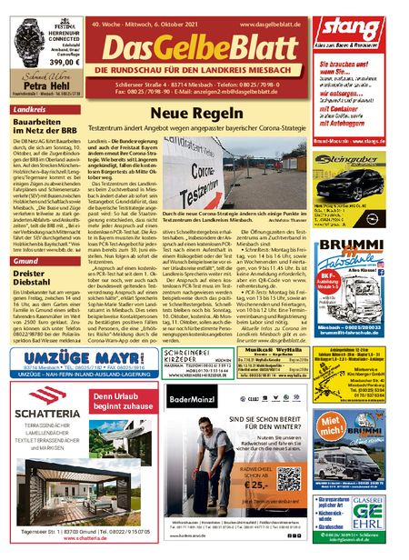 Rundschau Miesbach vom 06.10.2021