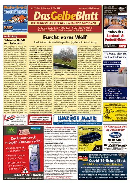 Rundschau Miesbach vom 05.05.2021