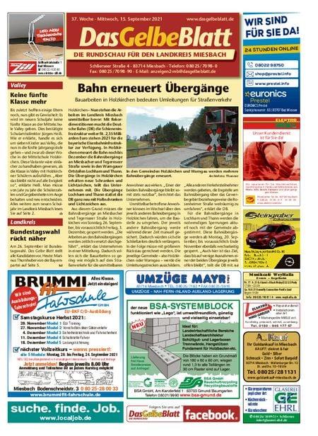 Rundschau Miesbach vom 15.09.2021
