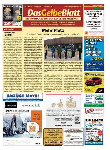 Rundschau Miesbach vom 13.10.2021