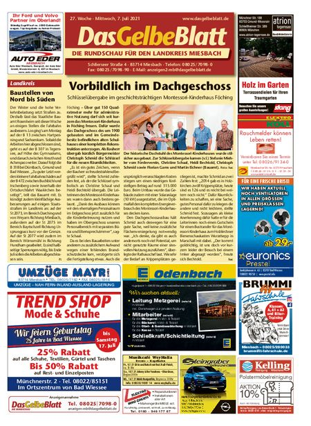 Rundschau Miesbach vom 07.07.2021