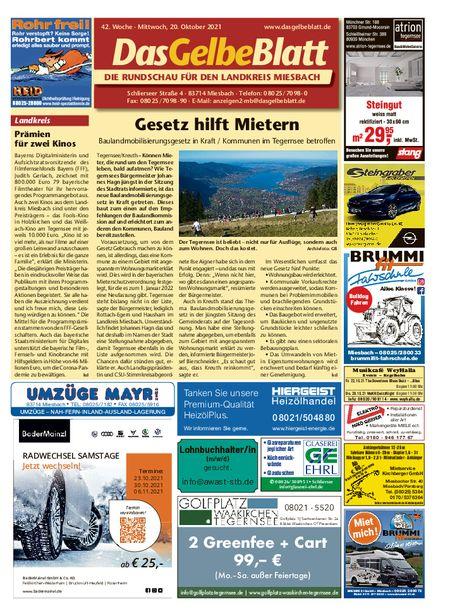 Rundschau Miesbach vom 20.10.2021